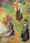 Paul Gauguin - In Brittany 1889