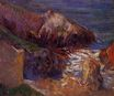 Paul Gauguin - Rocks on the coast 1889