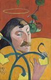 Paul Gauguin - Self Portrait with Halo 1889