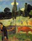 Paul Gauguin - The red cow 1889