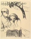 Paul Gauguin - Human Misery, from the Volpini Suite Dessins lithographiques 1889