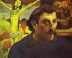 Paul Gauguin - Self Portrait with the Yellow Christ 1890