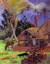 Paul Gauguin - Black pigs 1891