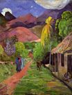 Paul Gauguin - Road in Tahiti 1891