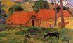 Paul Gauguin - The Three Huts 1891