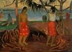 Paul Gauguin - Under the Pandanus 1891