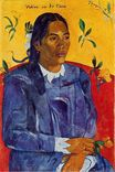 Paul Gauguin - Woman with a Flower 1891