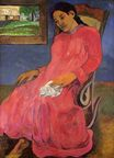 Paul Gauguin - Melancholic 1891