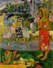 Paul Gauguin - Orana Maria. We Hail Thee Mary 1891