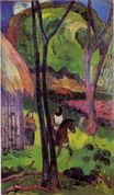Paul Gauguin - The rider in front of the hub 1892