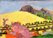 Paul Gauguin - The sacred mountain 1892