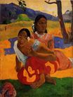 Paul Gauguin - When are you Getting Married? 1892