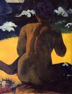 Paul Gauguin - Woman by the sea 1892