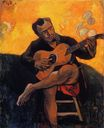 Paul Gauguin - The guitar player 1894