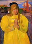 Paul Gauguin - Young Christian Girl 1894
