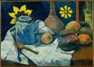 Paul Gauguin - Still life with teapot and fruits 1896