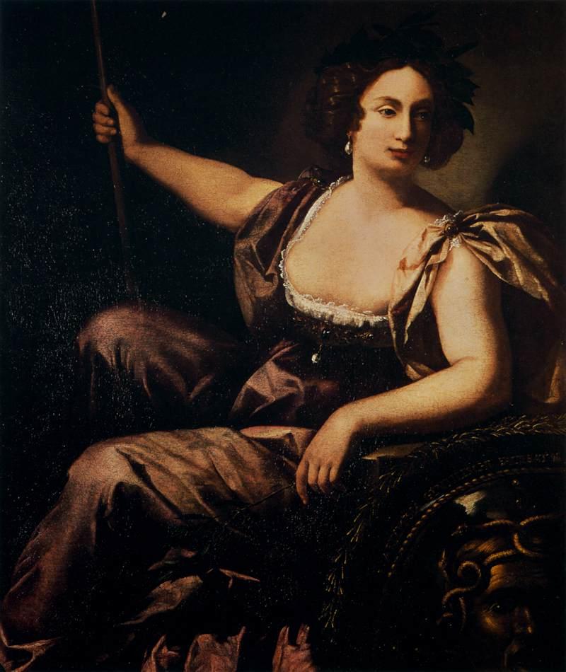 Artemisia Gentileschi - Italian Baroque painter, picture