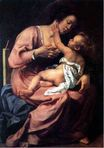 Artemisia Gentileschi - Madonna and Child 1609