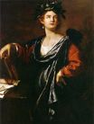 Artemisia Gentileschi - Clio, the Muse of History 1632