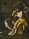 Artemisia Gentileschi - Bathsheba at Her Bath 1637-1638