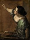 Artemisia Gentileschi - Self-portrait as the Allegory of Painting 1639