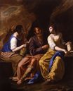 Artemisia Gentileschi - Lot and His Daughters 1640-1650