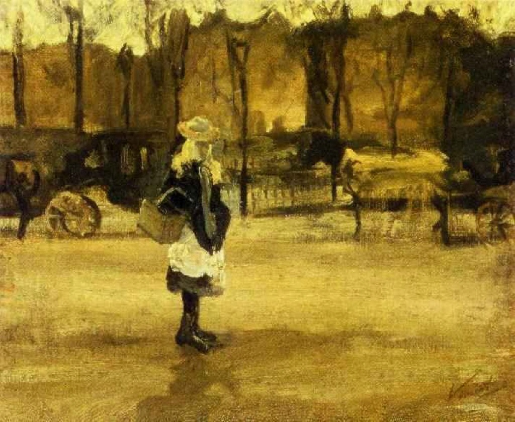 A Girl in the Street 1882
