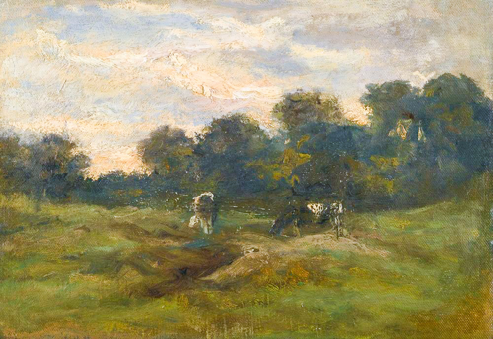 Cows in the Meadow 1883