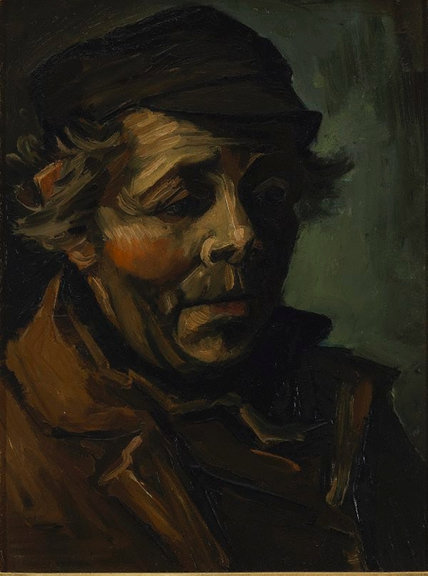 Head of a Peasant with Cap 1884