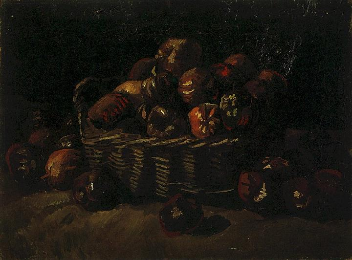 Basket of Apples 1885