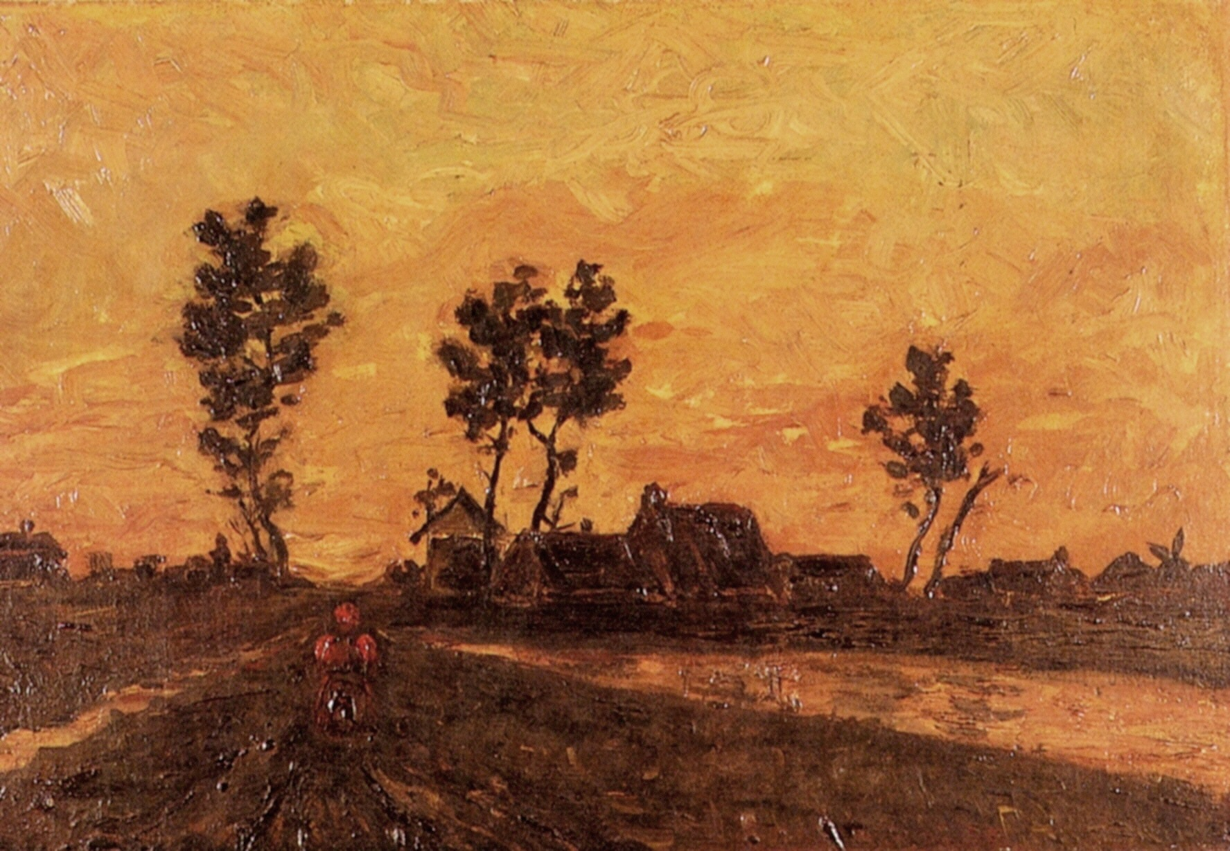 Landscape at Sunset 1885