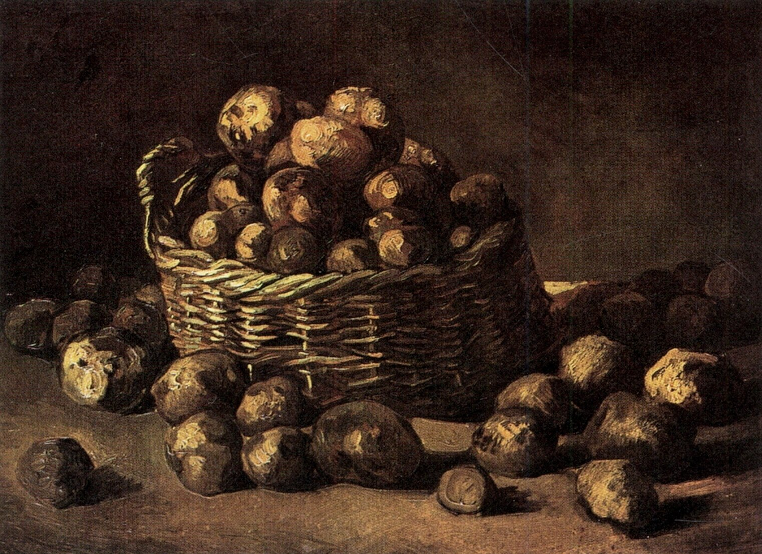 Basket of Potatoes 1885
