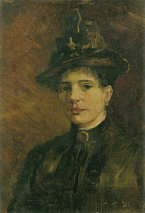 Portrait of a Woman with Hat 1886