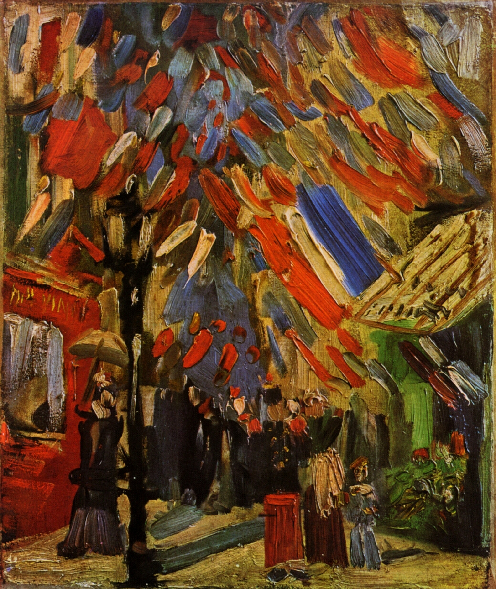 The Fourteenth of July Celebration in Paris 1886