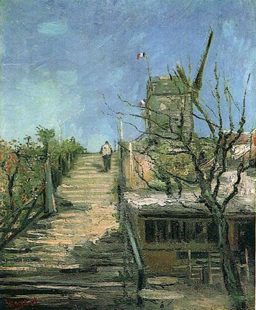 Windmill on Montmartre 1886