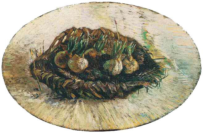Basket of Sprouting Bulbs 1887