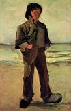 Fisherman on the Beach 1882
