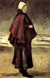Fisherman's Wife on the Beach 1882