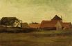 Farmhouses in Loosduinen near The Hague at Twilight 1883
