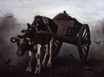 Cart with Black Ox 1884