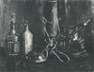 Still Life with Bottles and a Cowrie Shell 1884