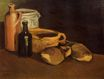 Still Life with Clogs and Pots 1884