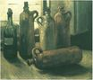 Still Life with Five Bottles 1884