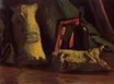 Still Life with Two Sacks and a Bottle 1884