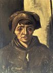 Head of a Peasant Woman with Dark Cap 1884