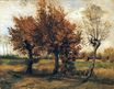 Autumn Landscape with Four Trees 1885