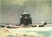 The Old Cemetery Tower at Nuenen in the Snow 1885