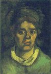 Head of a Woman 1885