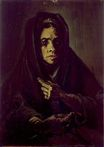 Woman with a Mourning Shaw 1885