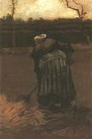 Peasant Woman Digging 1885
